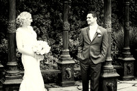 Bride & Groom_4626 bw